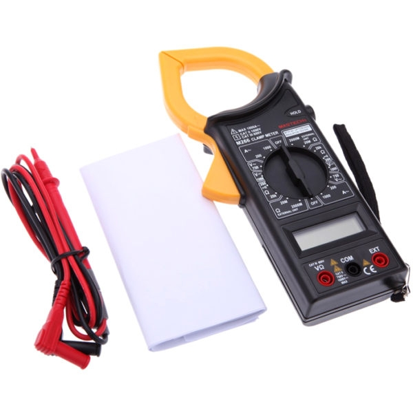 MASTECH M266 Digital Handheld 1000 A 750 V AC/DC Ammeter Voltmeter Clamp Multi Meter