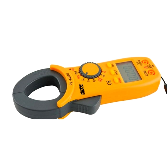 Meco 72-Auto Digital AC Clamp Meter/ Multimeter Jaw opening-25mm, 400 A 600 V (4000 Counts)