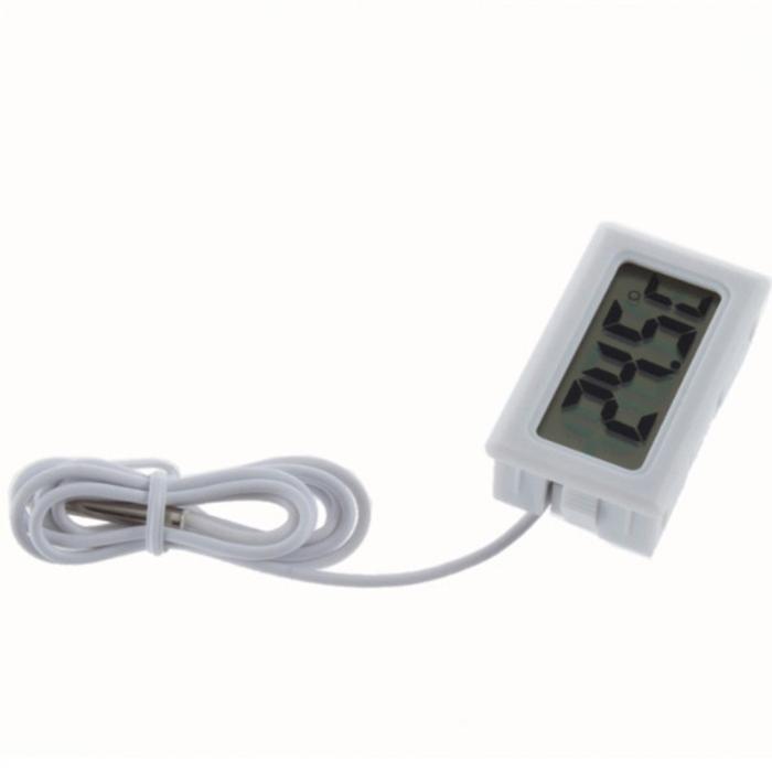 Mini 1.6″ LCD Digital Thermometer/ Temperature Meter for Refrigerator/ Aquarium with Sensor Probe