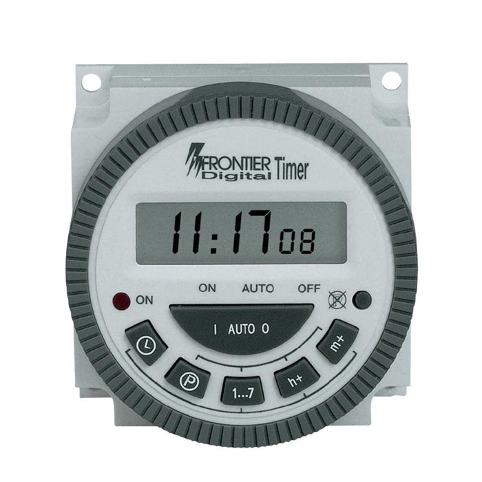 Frontier Digital Timer Programmable Controller, 15 Combinations Timer On/ Off Switch with LCD Display, 4/5 Pin, TM-619-2 – Original Taiwan Made