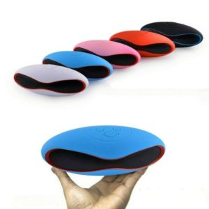 Mini Rugby Rechargeable Bluetooth Speaker FM Radio USB/ TF Card, Portable X6U Bluetooth Speaker