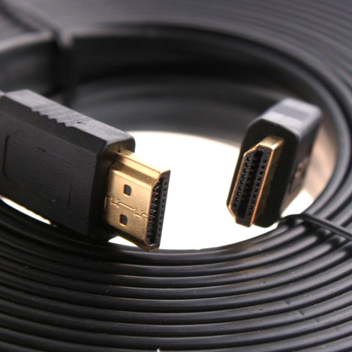 High Speed Flat HDMI Cable 1.4V 1080P Support 3D/ 4K, HDMI Cable for Monitor/ TV/ XBOX/ PS3/ HDTV, Male to Male HDMI Cable