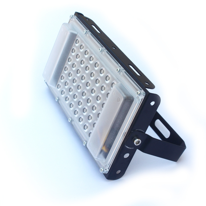 Waterproof Ultra Slim Super Bright 50W IP66 LED Flood Light, 6500K Mordern DIY SMD 5730, 50 Watt Square Flood Light, AC 180-240V Flood Light For Indoor & Outdoor Use