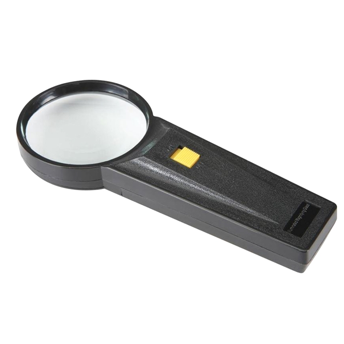2.5x Hand Held Magnifying Glass With Led Light for Jewelry, Reading, Camping, Travel, Coins, Seniors, Geology