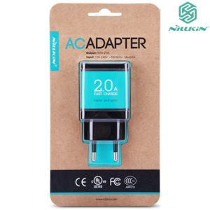 Original NILLKIN™ USB Charger AC 5V 2A Adapter, Fast Charging for Mobile Phones