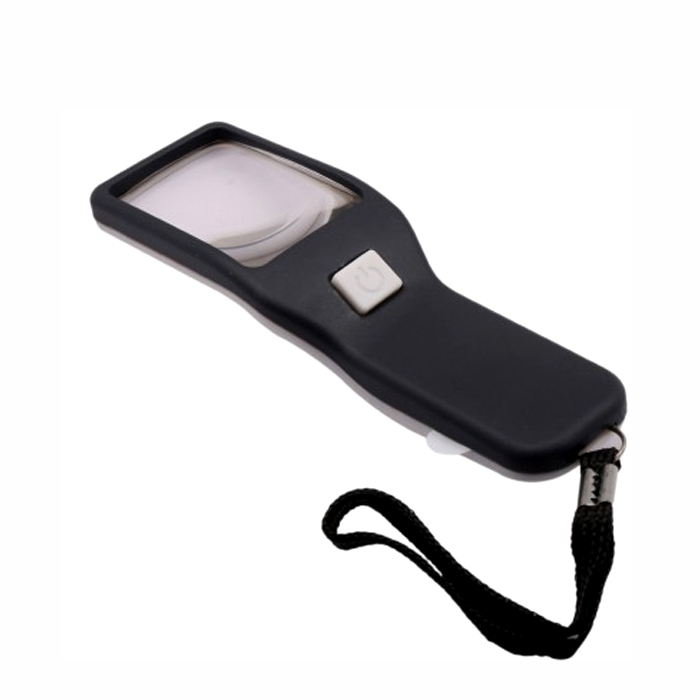 5x Hand Held Magnifying Glass With Led Light for Jewelry, Reading, Camping, Travel, Coins, Seniors, Geology