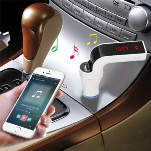 CARG7 LCD Bluetooth Car Charger FM Kit MP3 Transmitter USB Hands-Free Mobile AUX