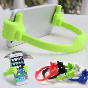 Flexible Thumb OK Designed Mobile/ iphone/ Tablet, Car Desk Stand Mount, Table Top Mount Stand, Smartphones Desk Stand Mount Holder