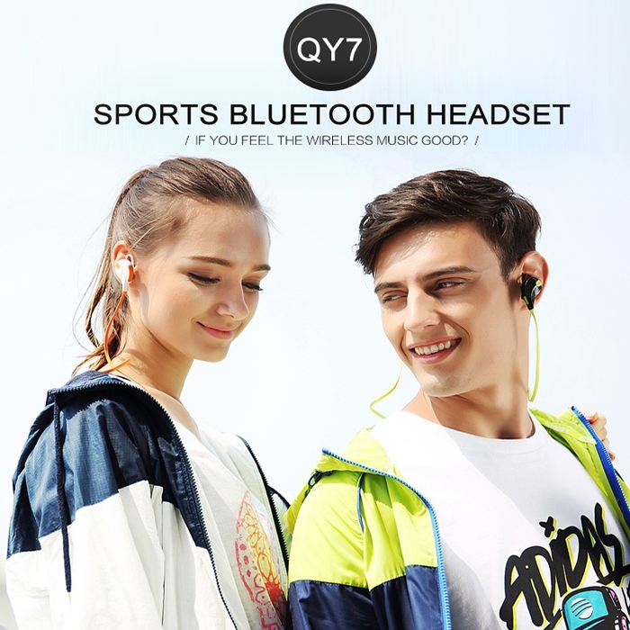 JOGGER® QY 7 Sports Bluetooth V 4.1 Wireless Stereo Hands-Free Headphones Extra Bass with Mic for All Bluetooth Enabled Devices