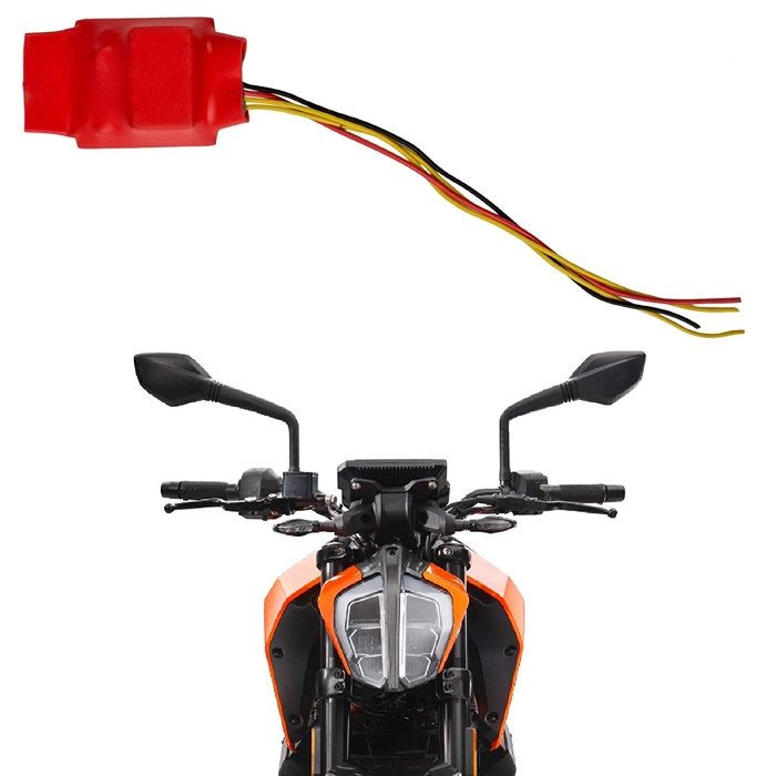 Universal Bike Hazard Flasher, 15 Different Patterns Flasher for LED/ Bulb Indicators