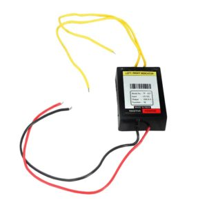 Universal Bike Hazard Flasher, Waterproof 16 Different Patterns Flasher Relay for LED/ Bulb Indicators