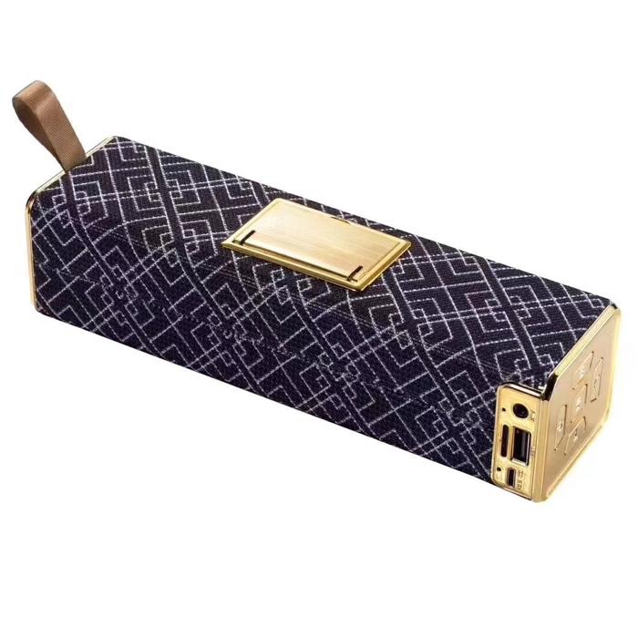 Q16 Portable Bluetooth Speaker, 5 Watt High Bass Waterproof/ Splashproof Bluetooth Speaker with Mobile Stand