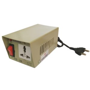220V to 110V AC 100 Watt Step Down Converter, Transformer Base Voltage Converter, 100W Step Down Converter