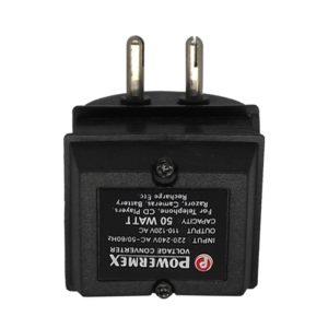220V to 110V AC 50 Watt Step Down Converter, Transformer Base Voltage Converter - 50W