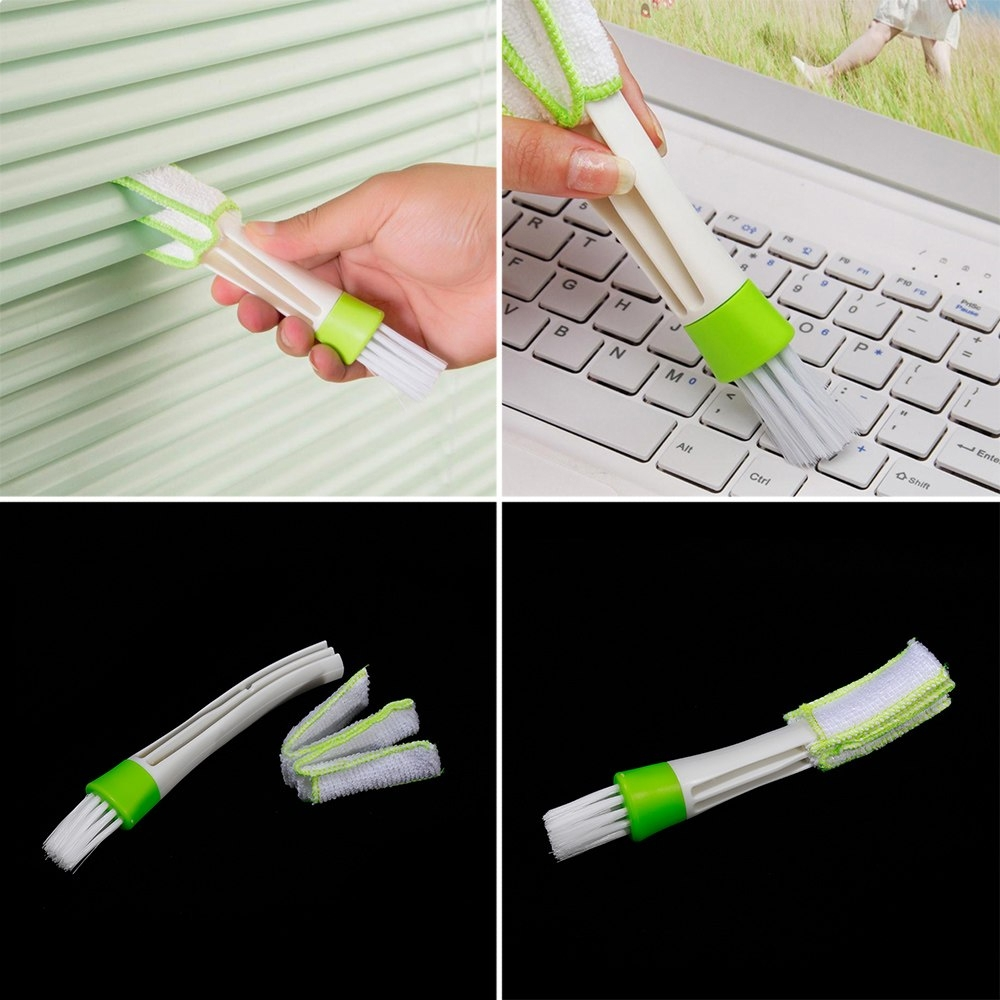 Car AC Air Outlet Vent Brush Dust Cleaning Tools Internal Cleaner Brush, Keyboard Cleaning Brush
