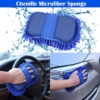 High Performance Wash and Dry 2 in 1 Multipurpose Microfiber Washer Cleaning Sponge Duster for Car, Bike, Home, Office