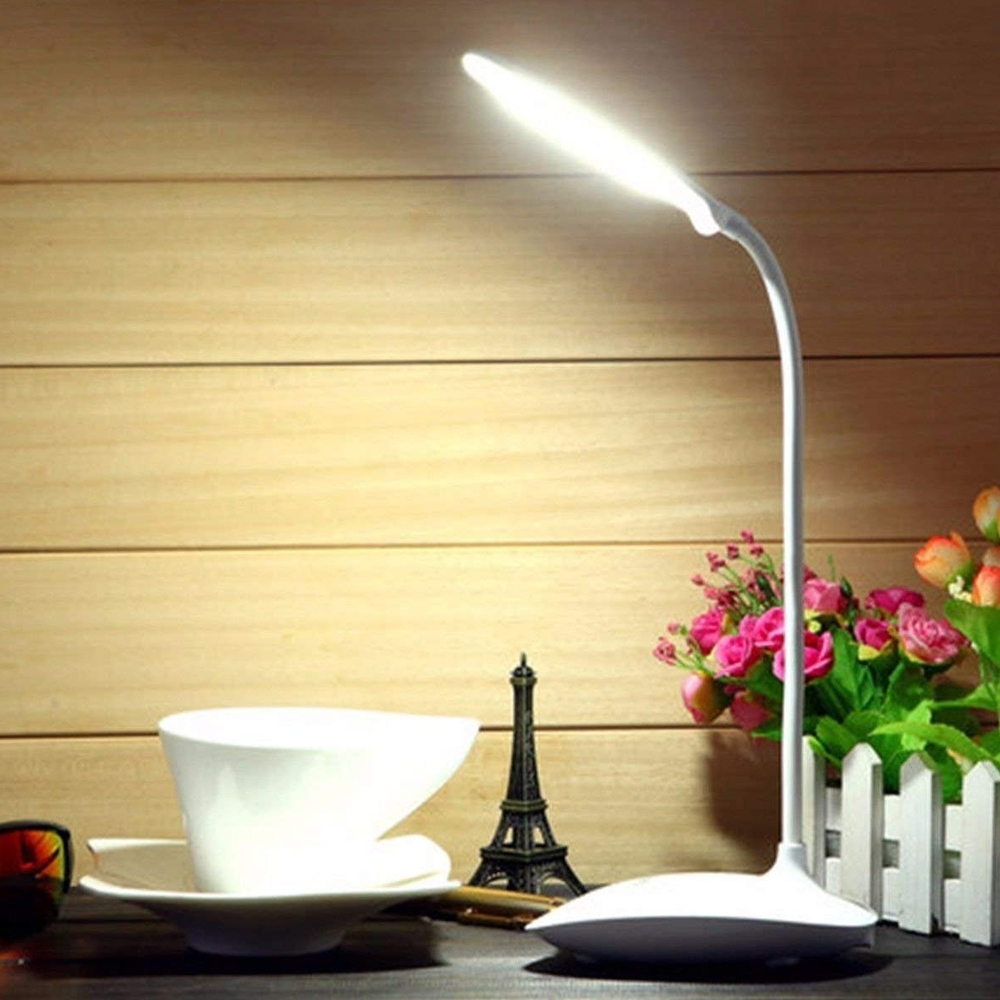 Portable Rechargeable Flexible Rock Light Touch Dimmer Control LED Table Lamp, Study Lamp, Night Lamp Indoor & Outdoor (RL-8888)