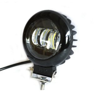 Round 3 LED Headlight 30 Watt Projector Fog Lamp/ Led Bar/ Fog Light/ Work Light, Universal Fitting Bikes, Cars, Royal Enfield, Thunderbird
