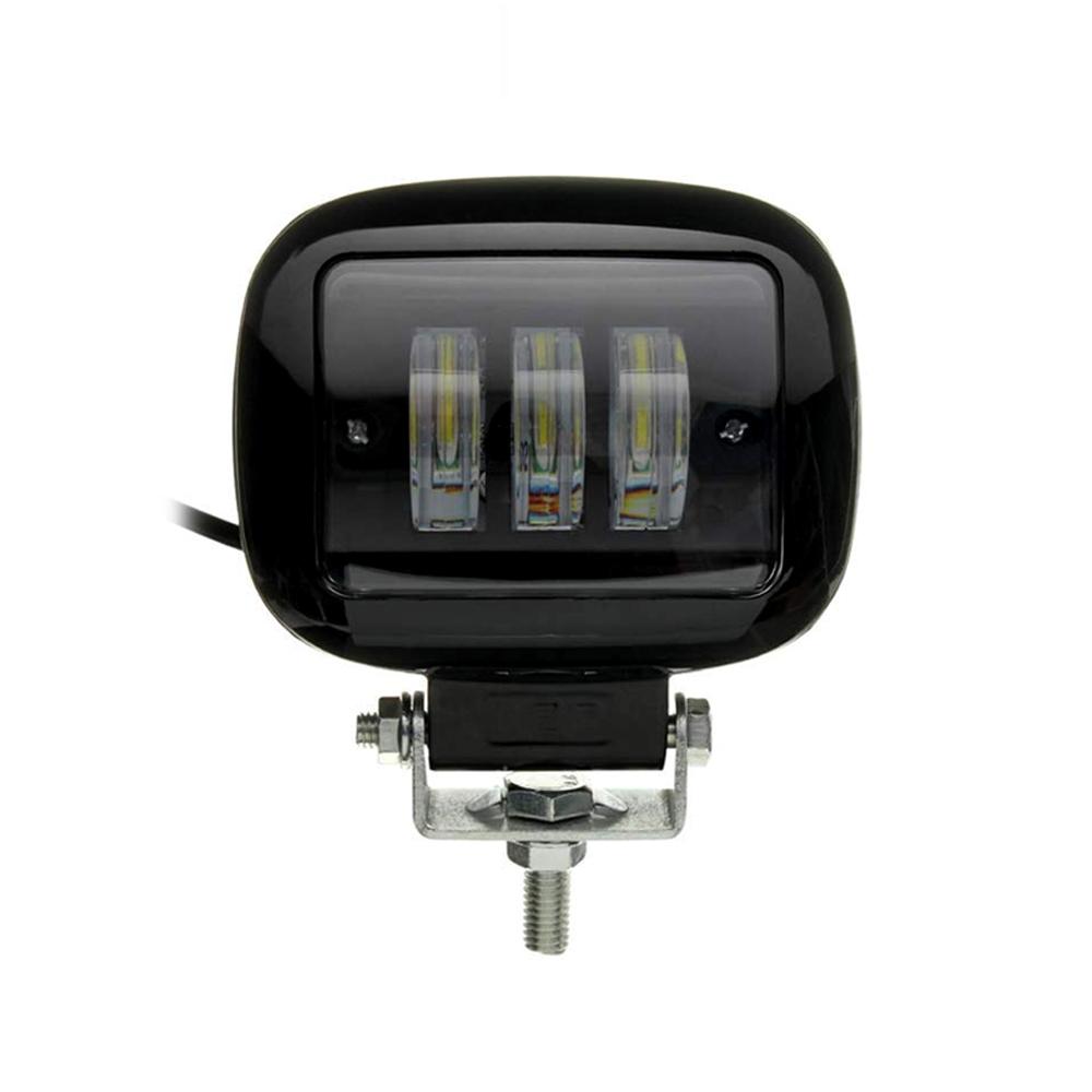 Square 3 LED Headlight 30 Watt Projector Fog Lamp/ Led Bar/ Fog Light/ Work Light, Universal Fitting Bikes, Cars, Royal Enfield, Thunderbird