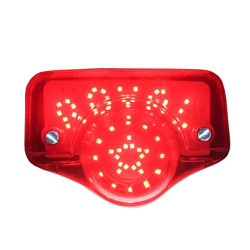 High Quality LED Tail Light with Parking DRL Light & Number Plate Light for Royal Enfield Standard 350/ 500