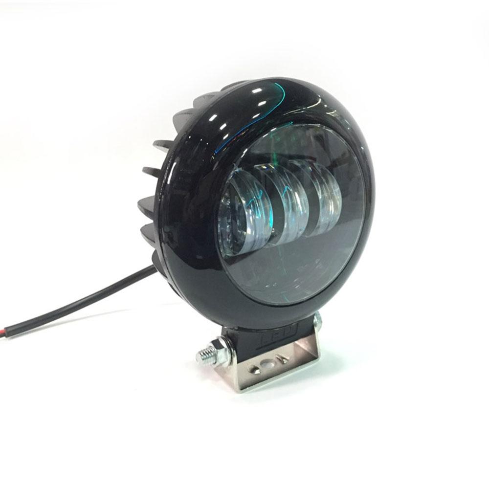 Round 3 LED Headlight 30 Watt Projector Fog Lamp/ Led Bar/ Fog Light/ Work Light, Universal Fitting Bikes, Cars, Royal Enfield, Thunderbird