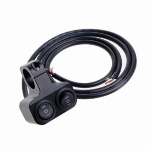 "Universal Heavy Duty 22mm 7/8"" Motorcycle Handlebar Dual Switch ON OFF Button for Motorcycle, Harley, Dirt Bike, Scooter, ATV"