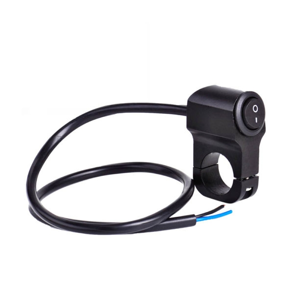 Universal Heavy Duty 22mm 7/8″ Motorcycle Handlebar Switch ON OFF Button for Motorcycle, Harley, Dirt Bike, Scooter, ATV