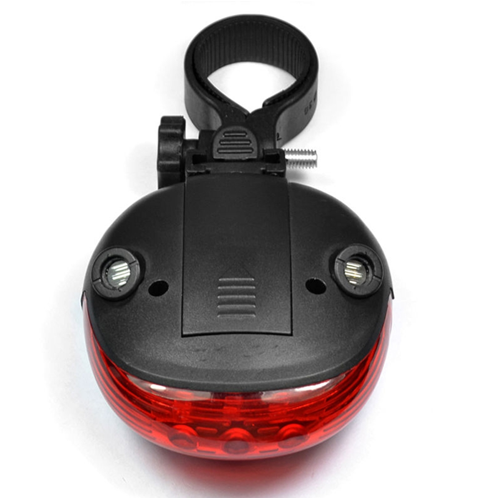 Cycling Light 5 Waterproof LED 2 Laser Beams Bike Bicycle Laser Tail Light 7 Flash Mode, 5 LED Cycling Rear Light, Bike Tail Lamp