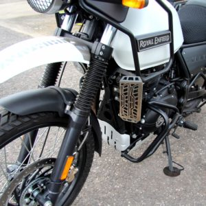 Stainless Steel CNC Radiator Guard for Royal Enfield Himalayan, Radiator Protector Cover Himalayan Bike