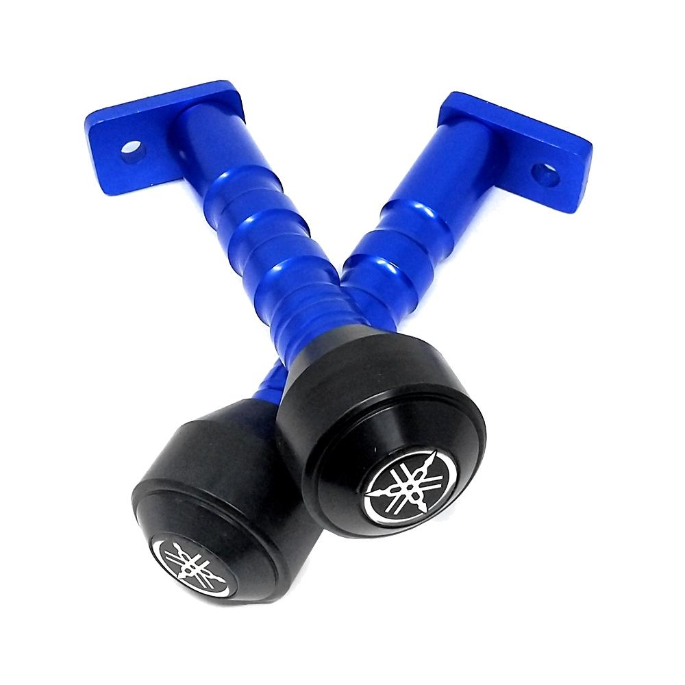 Blue Frame Slider Crash Protection Guard (Frame Protector) for Yamaha YZF R15 V3 & MT 15