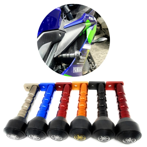 Heavy Duty CNC Frame Slider Crash Protection Guard (Frame Protector) for Yamaha YZF R15 V3 & MT 15