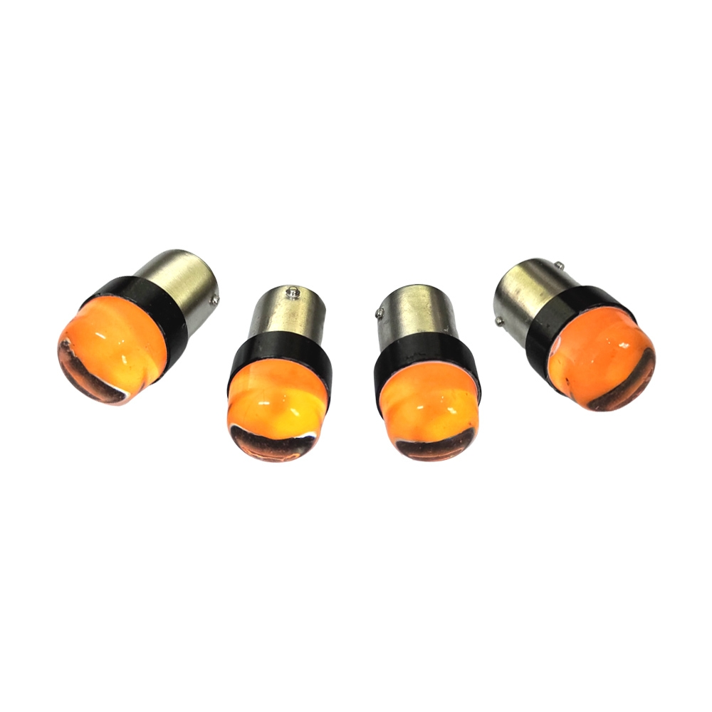High Quality Super Bright Silicon LED Bulb for Motorcycle & Car Indicator, BAU15S LED Bulb for Indicators/ Tail Break Stop/ Turn Signal Light