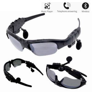 Bluetooth Headset Sunglasses, Outdoor Sports Bluetooth Sunglasses, Goggle With Bluetooth Headphone Earbuds, Riding Driving Bluetooth Sun Glasses