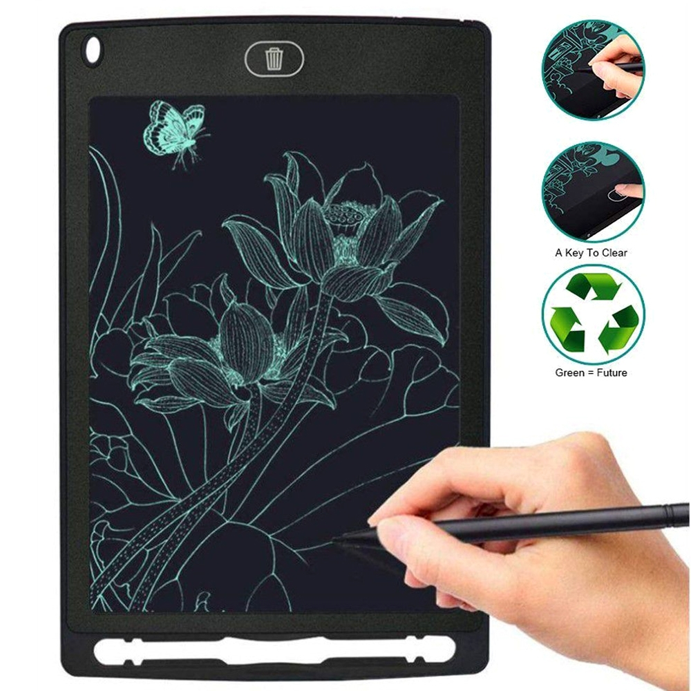 Ultra Thin 8.5 Inch LCD Writing Tablet Digital Drawing Tablet Environment Friendly Convenient Handwriting Notepad Pads Board with Stylus Pen
