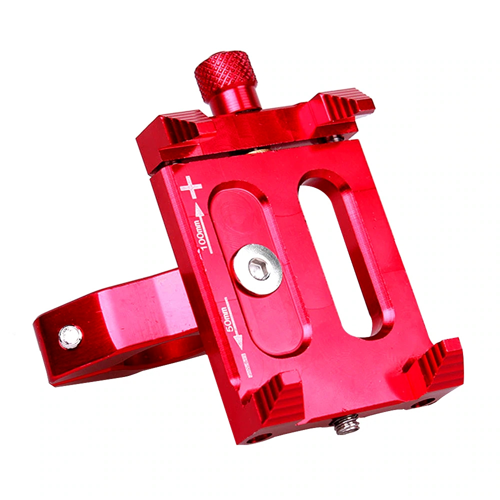Red Motorcycle Handlebar Mount Holder Stand